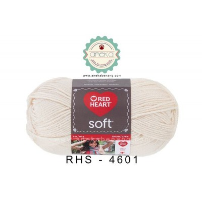 Red Heart Soft #4601 (Off White)
